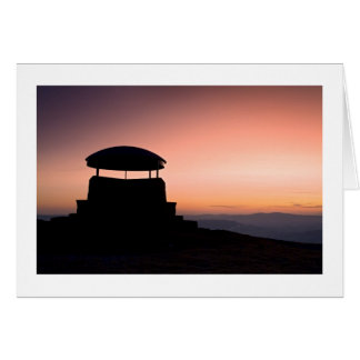 The Mushroom Shelter, Scout Scar, Kendal Greeting Card