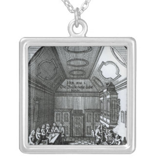 The Music Room Silver Plated Necklace