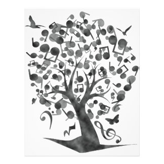 The_Music_Tree 21.5 Cm X 28 Cm Flyer