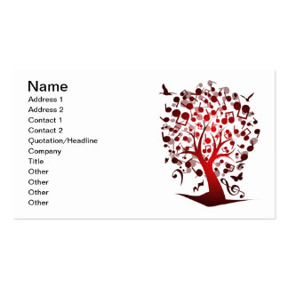 The_Music_Tree Business Card Templates