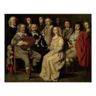 The Musical Reunion, 1642 Poster