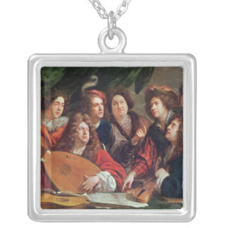 The Musical Society, 1688 Silver Plated Necklace