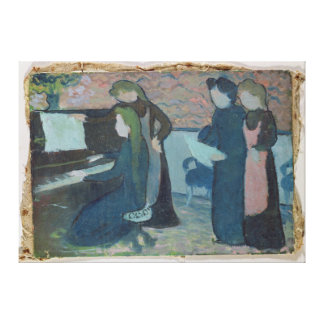 The Musicians, c.1892 Canvas Print