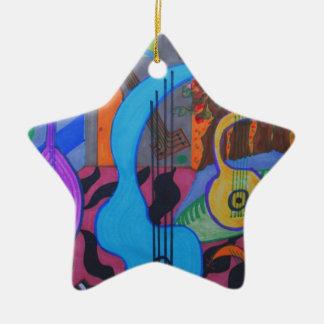 the musician's studio christmas ornament