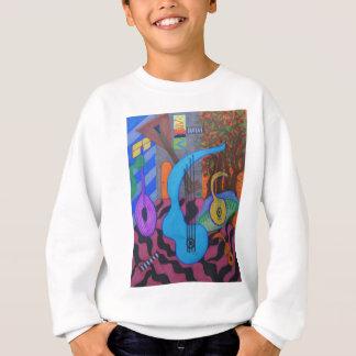 the musician's studio sweatshirt