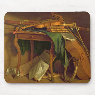 The Musician's Table, c.1760 Mouse Pad