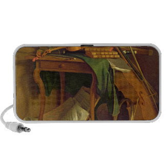 The Musician's Table, c.1760 Travelling Speaker