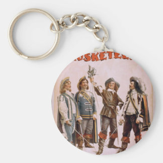 The Musketeers, 'Paul Gilmore' Retro Theater Key Ring