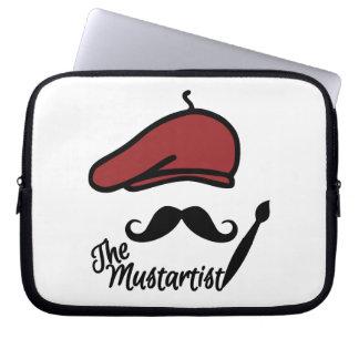 The Mustartist custom laptop sleeve