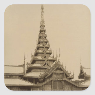 The Myei-nan or Main Audience Hall Square Sticker