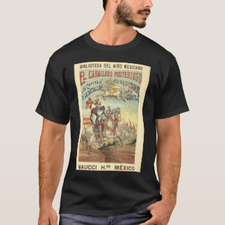 The Mysterious Gentleman and The Conquistador Cap T-Shirt