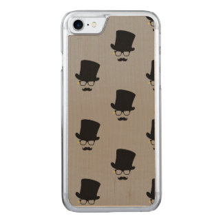 The Mysterious Man Pattern Art Carved iPhone 8/7 Case
