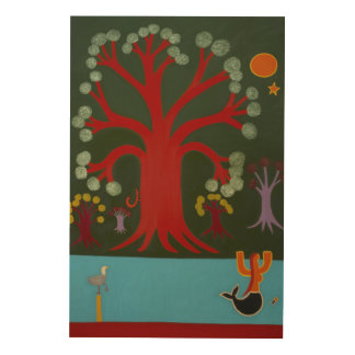 The Mysterious Woods in Putney 2008 Wood Wall Decor