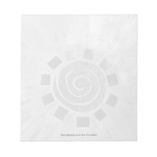 The Mystery is in the Creation (Notepad) Notepad