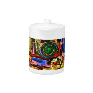 """The Mystery Machine"" Custom Tea Pot"