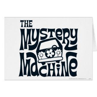 The Mystery Machine Logo 16 Card