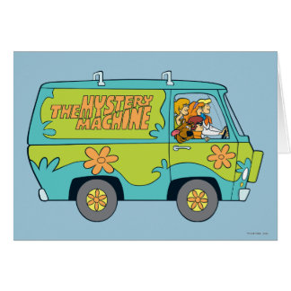 The Mystery Machine Shot 13 Card