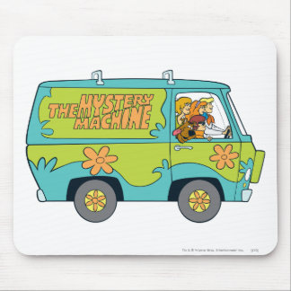 The Mystery Machine Shot 13 Mouse Mat