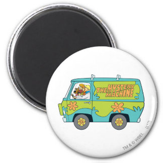 The Mystery Machine Shot 14 Magnet