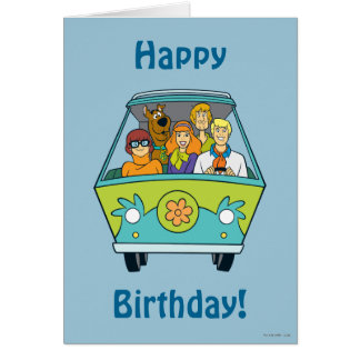 The Mystery Machine Shot 16 Greeting Card
