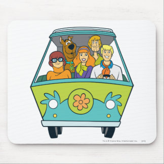 The Mystery Machine Shot 16 Mouse Mat