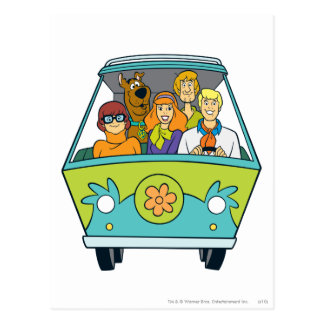The Mystery Machine Shot 16 Postcard