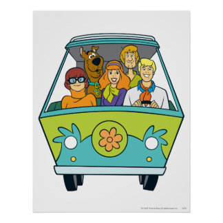 The Mystery Machine Shot 16 Poster