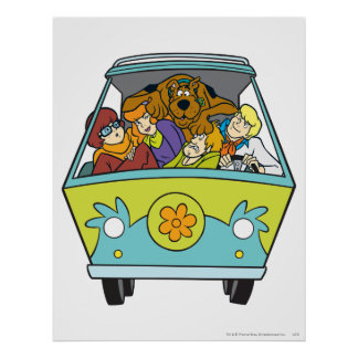The Mystery Machine Shot 18 Poster