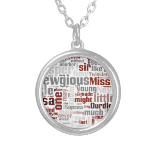The Mystery of Edwin Drood Silver Plated Necklace