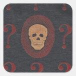 The Mystery Skull Sticker
