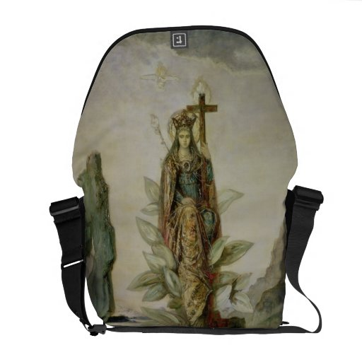 The Mystic Flower Messenger Bag