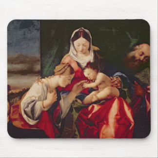 The Mystic Marriage of Saint Catherine, 1505/8 Mouse Mat