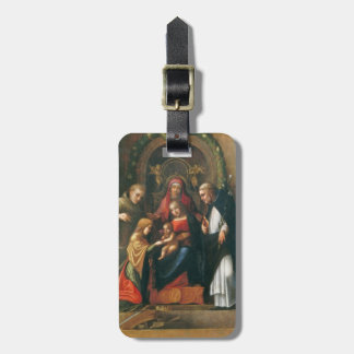 The Mystic Marriage of Saint Catherine Luggage Tag