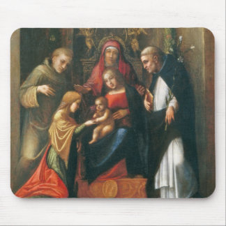 The Mystic Marriage of Saint Catherine Mouse Pad