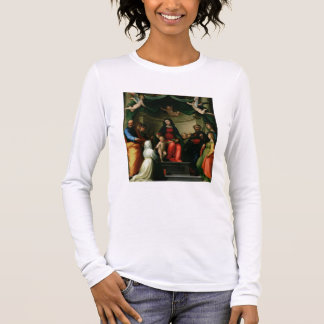 The Mystic Marriage of St. Catherine of Siena with Long Sleeve T-Shirt