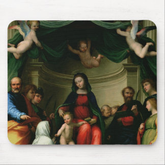The Mystic Marriage of St. Catherine of Siena with Mouse Pad