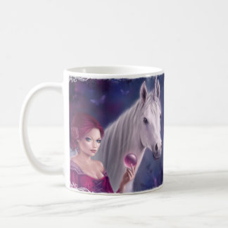 The Mystic Unicorn Art Mug