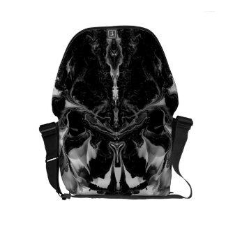 THE MYSTIC WAY (black & white art) ~ ~ ~ ~ Courier Bag
