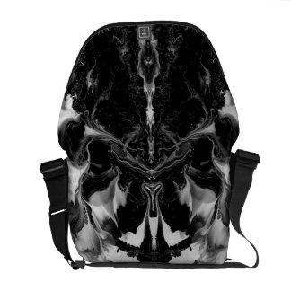 THE MYSTIC WAY (black & white art) ~ ~ ~ ~ Messenger Bags