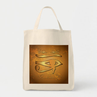 The mystical all seeing eye tote bag
