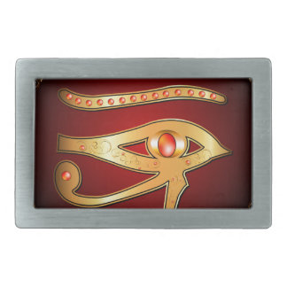 The mystical all seeing eye belt buckle