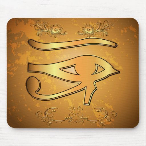 The mystical all seeing eye mouse pads