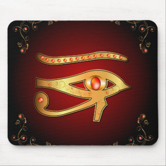 The mystical all seeing eye mousepads
