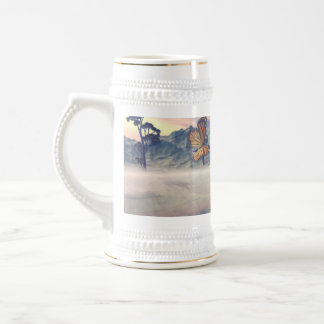 The mystical island of Butterflys Coffee Mugs