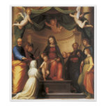 The Mystical Marriage of Saint Catherine, 1511 Posters