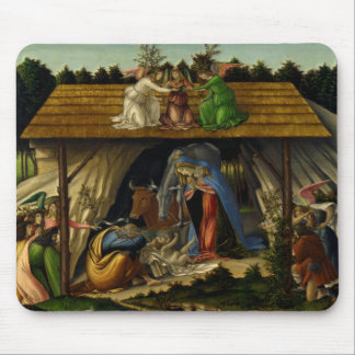 The Mystical Nativity - Botticelli Mouse Pad