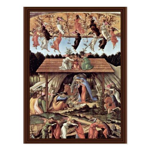 The Mystical Nativity Mystic Nativity Postcard