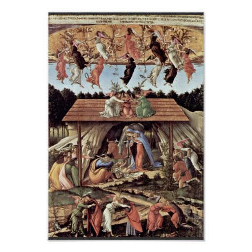 The Mystical Nativity Mystic Nativity Poster