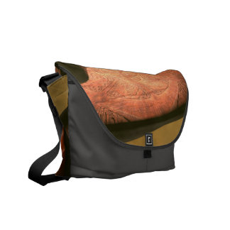 The mystical  temple commuter bag