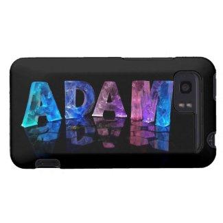 The Name Adam in Lights HTC Vivid Case